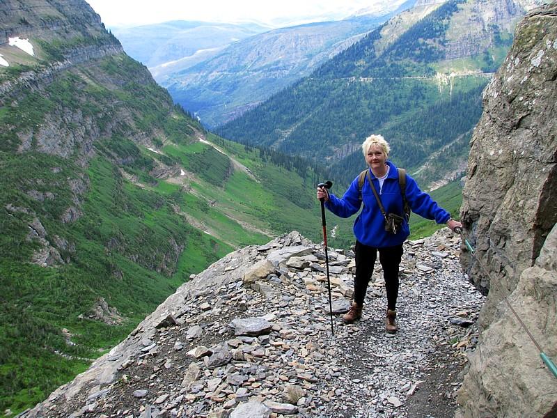 2008 Glacier Np Highline Trail