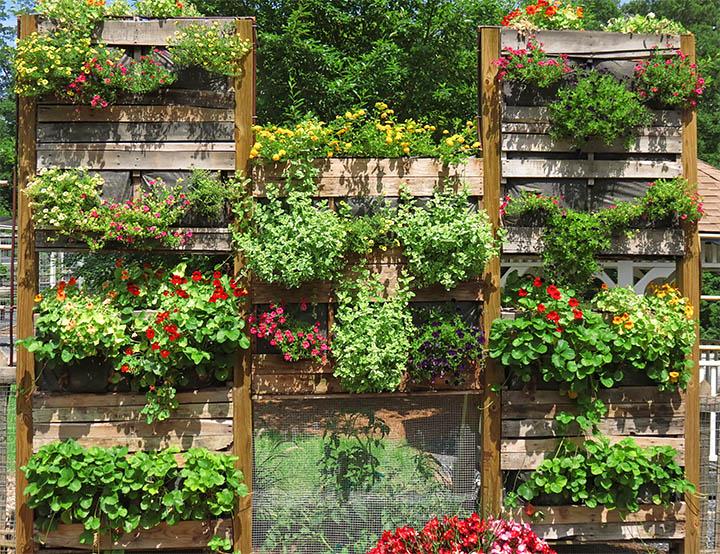 Contemporary Garden Shelves Garden Shelves In ...
