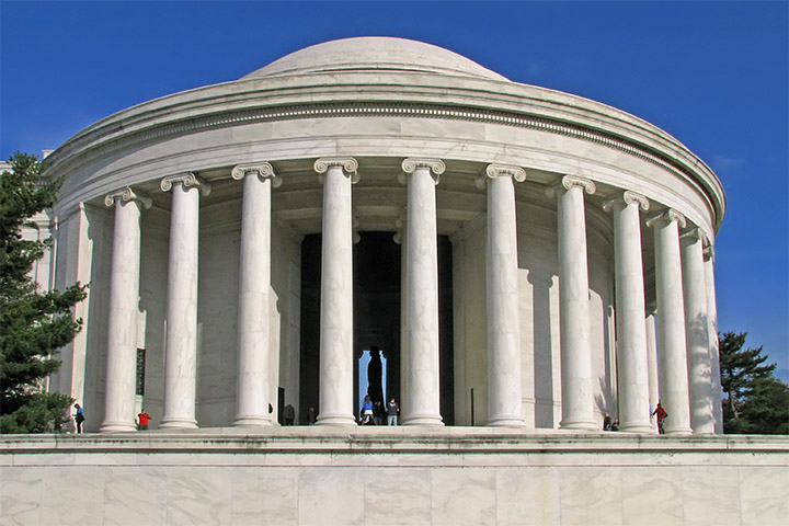 Jefferson Memorial Oct 2011